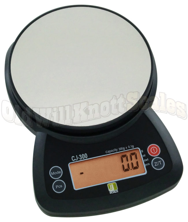 Jennings cj 300 compact scale with 0 1 gram precision for Digital jewelry scale target
