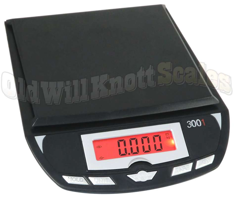 My Weigh 3001p Black Multi Purpose Table Top Digital Scale