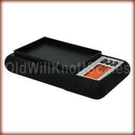 The DuraScale using the protective cover as a weighing tray.