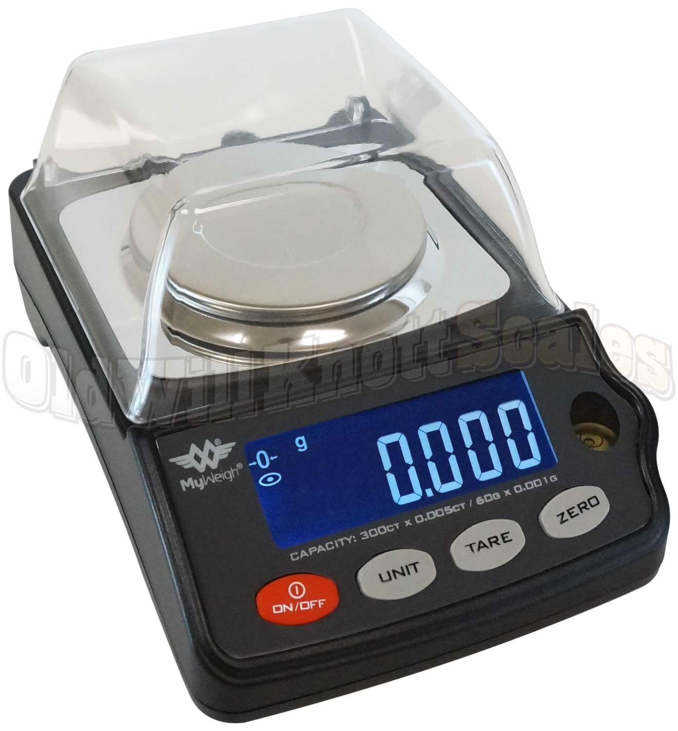 My Weigh Gempro 300 Compact Precision Scale With Storage Case