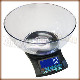 The new i2500 with weighing bowl.