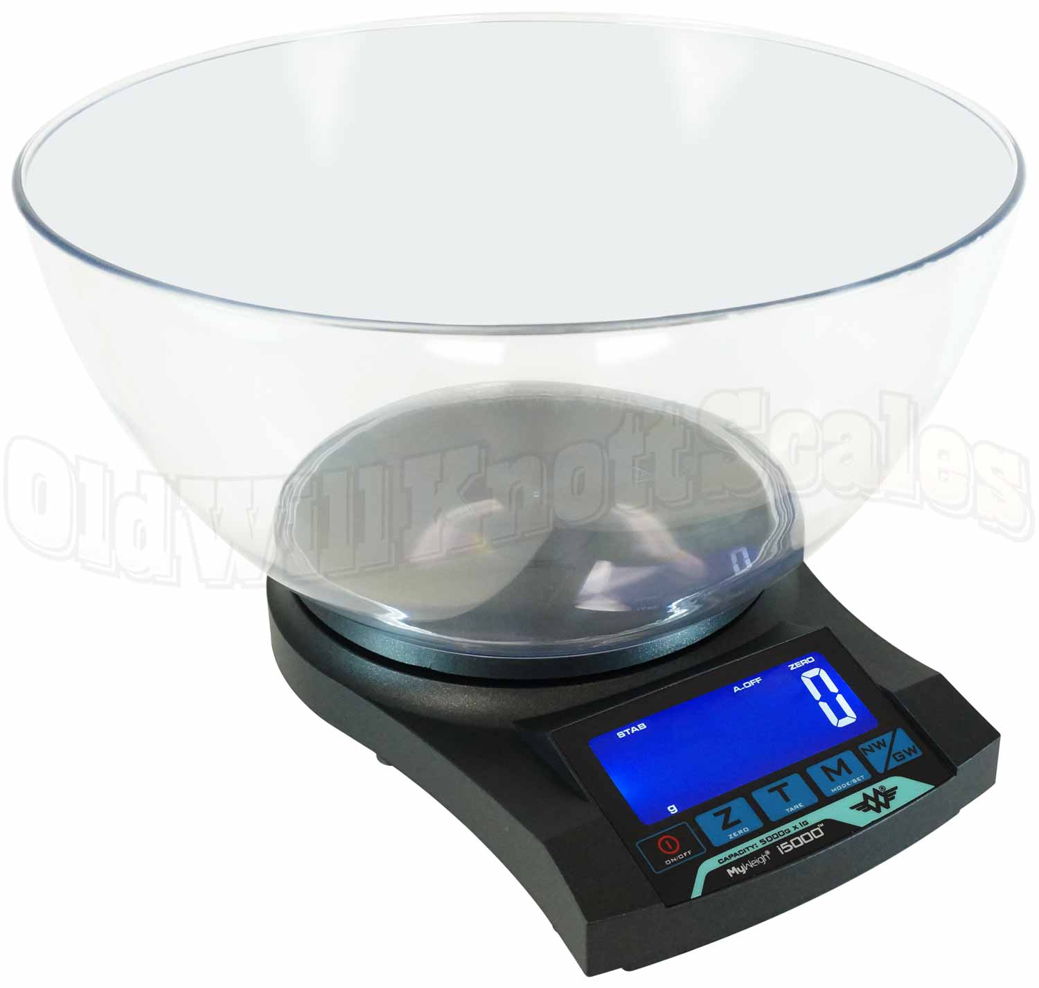 My Weigh Ibalance I5000 Gram Scale With Bowl
