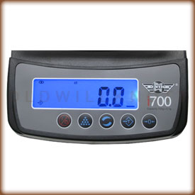 My Weigh iBalance 700's Display Panel