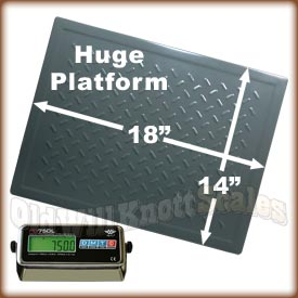 The My Weigh PD-750L high capacity digital scale
