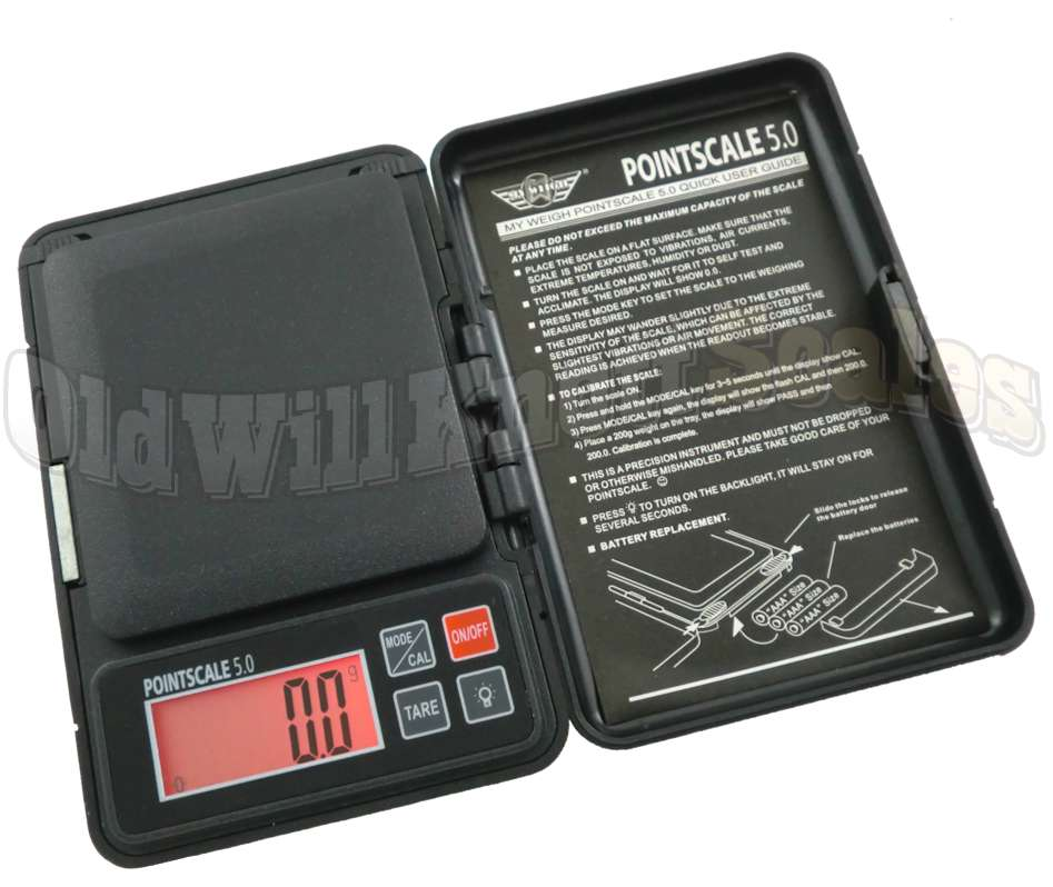 My Weigh Pointscale 500 Digital Pocket Scale