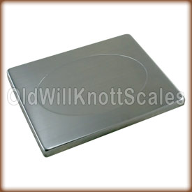 Stainless steel platform cover for the My Weigh UltraShip Series