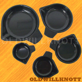 Five Piece Universal Plastic Cup Set