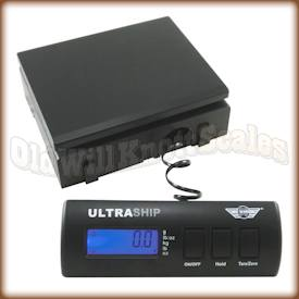My Weigh - Ultraship 55 - Showing Corded Remote Weight Display Detached From The Scale's Body