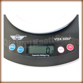 My Weigh - Vox 3000 - Display