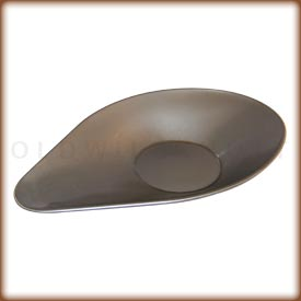 Stainless steel weighing scoop