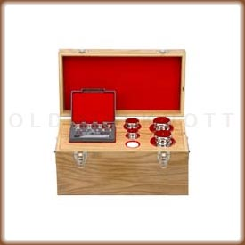 Ohaus calibration weight set