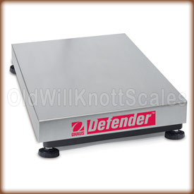 The Ohaus Defender D30HR weighing platform