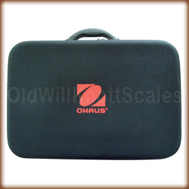 Ohaus 83032225 carry and storage case for the navigator.