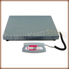 The Ohaus SD200L digital shipping scale
