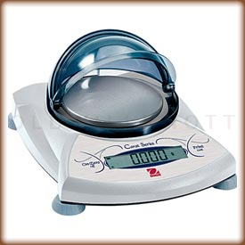 The Ohaus SPJ jewelry and carat scale.