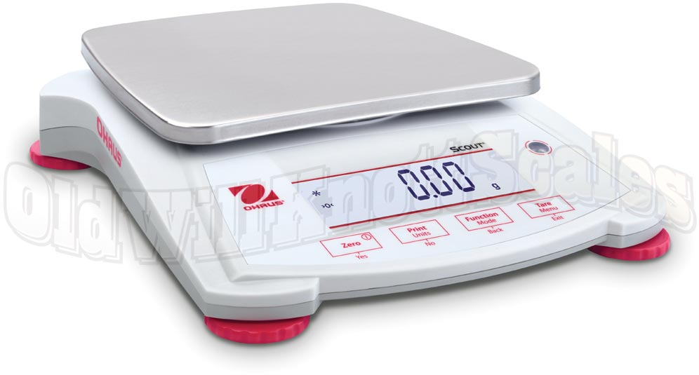 Ohaus Spx1202 Scout Centigram Balance With 1200 Gram Capacity