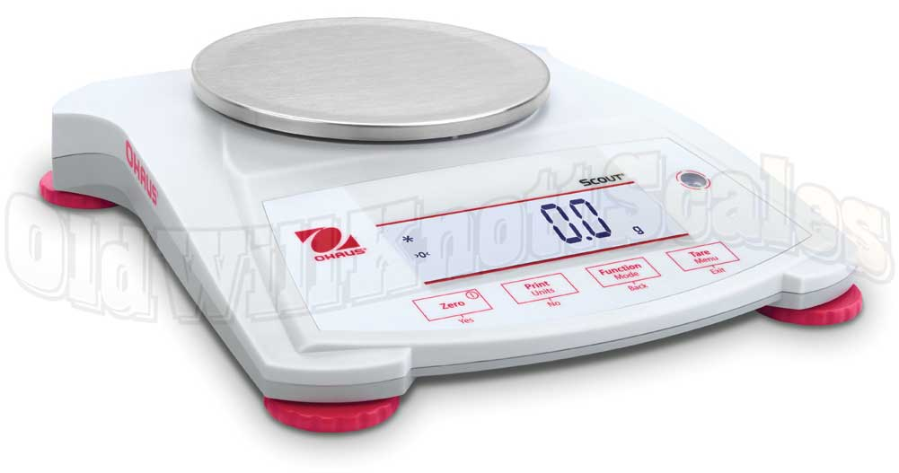 Ohaus scout spx421 precision balance with 420 gram for Balanza cocina 0 1 g