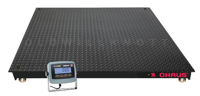 Ohaus vn31p5000l vn series high capacity floor scale for Scale floor