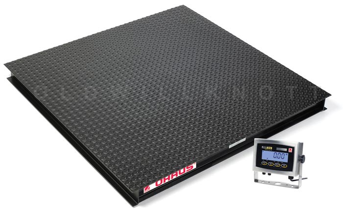 Ohaus vx32xw5000x high capacity floor scale for Scale floor