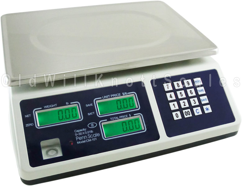 Penn Scale Cm101 Digital Price Computing Scale