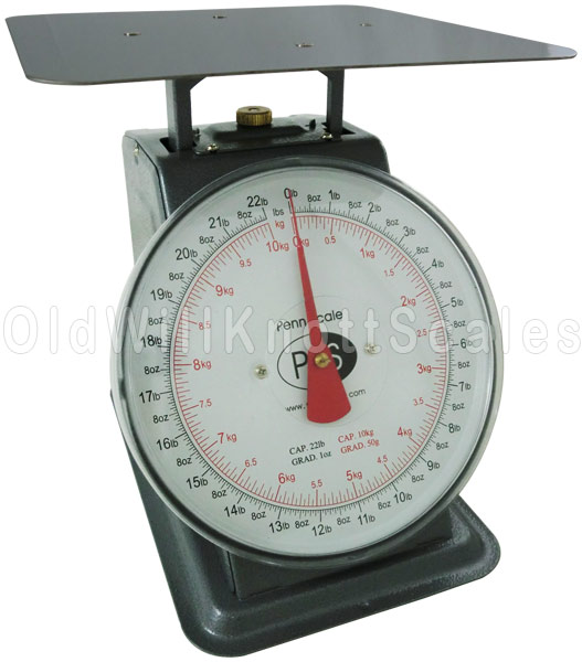 Penn Scale P 22 Top Loading Dial Scale With Stationary Dial