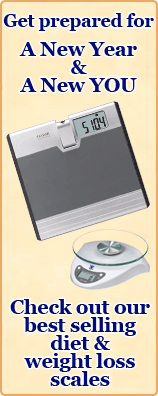 Get ready for a new year and a new you. Check out our best selling diet and weight loss scales.