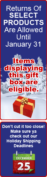 Order your gifts today and get until January 31 to return them.