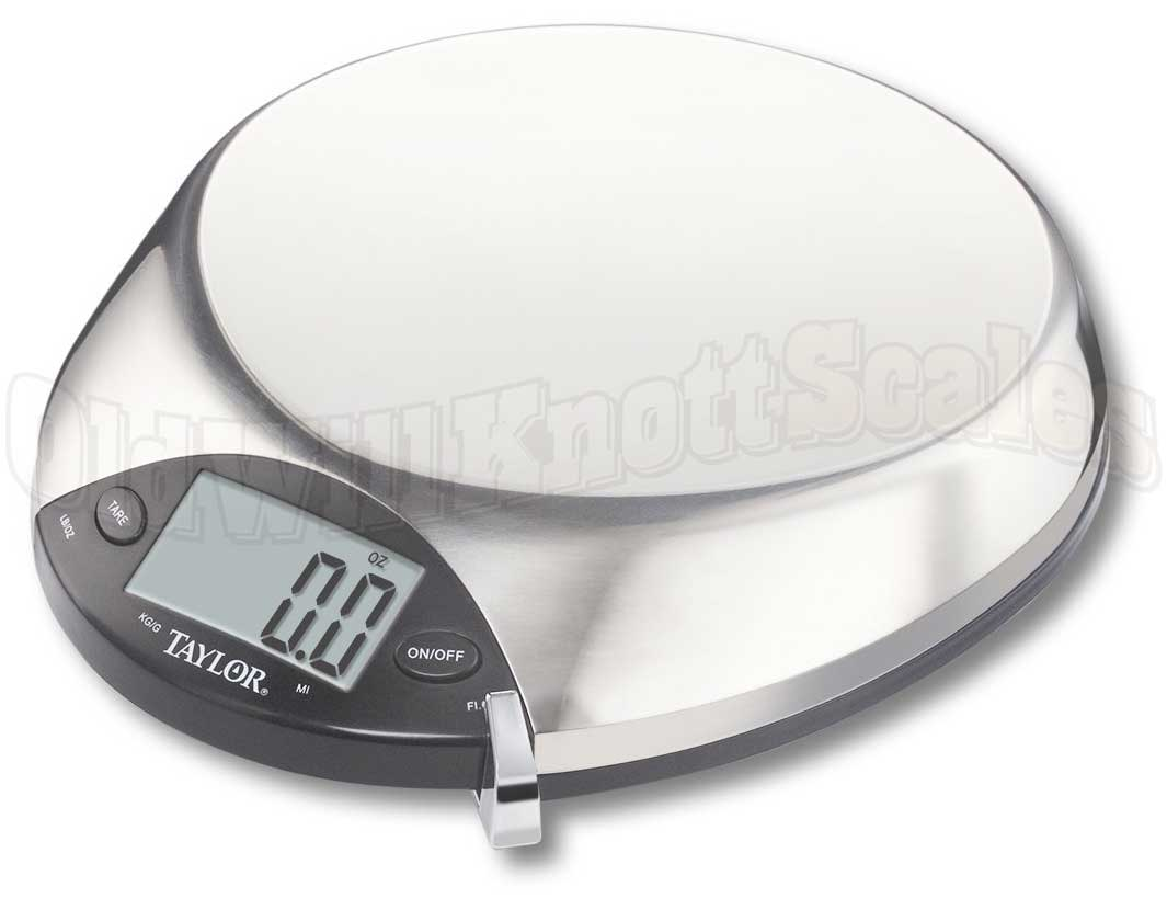The Salter 1010SS Stainless Steel Digital Kitchen Scale