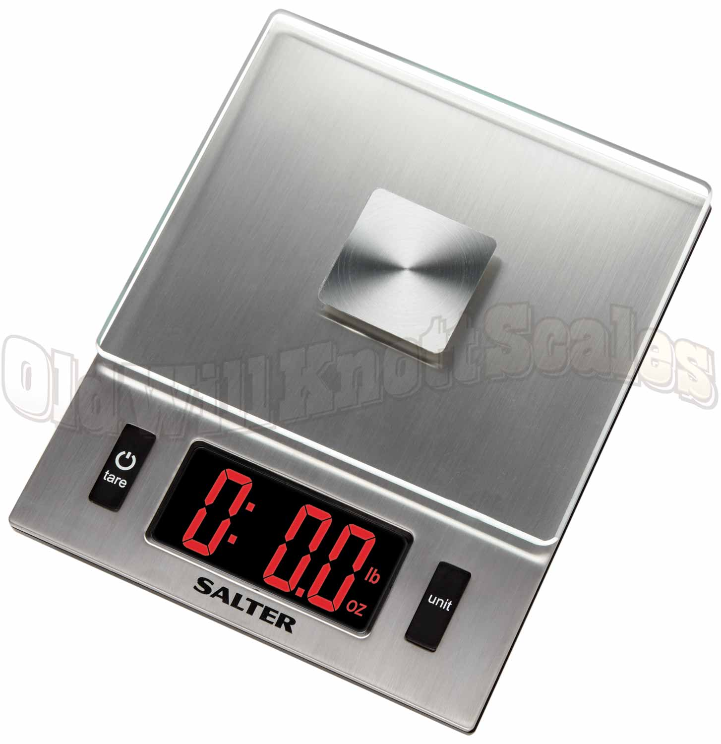 salter 1069sv digital kitchen scale with large led and glass platform - Digital Kitchen Scale