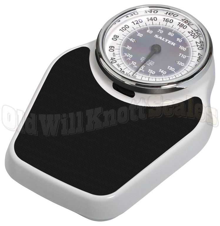 Beautifully Designed Mechanical Bathroom Scale From Salter Scales 400 Pound Capacity X 1 Resolution