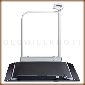 Seca 676 High Capacity Wheelchair Scale - View From Side
