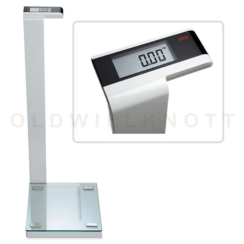 High Quality Electronic Bathroom Scale From Seca Scales 396 Pound Capacity X 0 2 Resolution