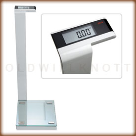 Seca 719 digital bathroom scale.