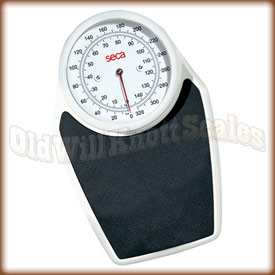 The Seca 762 mechanical bathroom scale