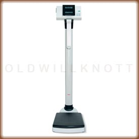 Seca 763 digital column scale.