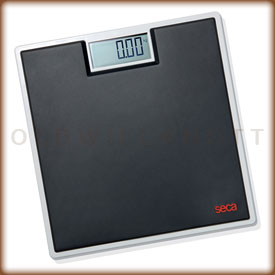 Taylor Bathroom Scales >> Seca 803 Black Digital Bathroom Scale with 330 Pound Capacity