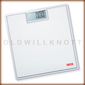 Seca 803 digital bathroom scale.