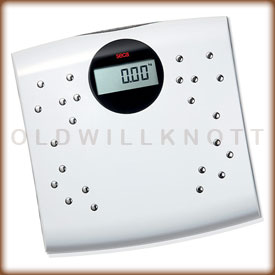 Seca 804 digital bathroom scale.