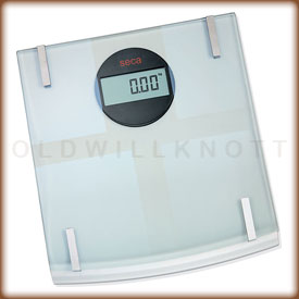 Seca 808 digital bathroom scale.