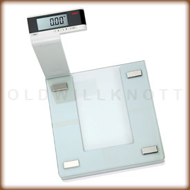 Seca 818 digital bathroom scale.