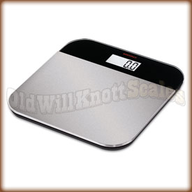 The SOEHNLE 63332 Elegance Steel bathroom scale.