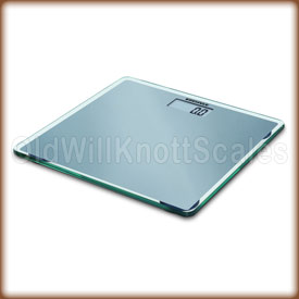 The SOEHNLE 63538 Slim Design Silver digital scale.