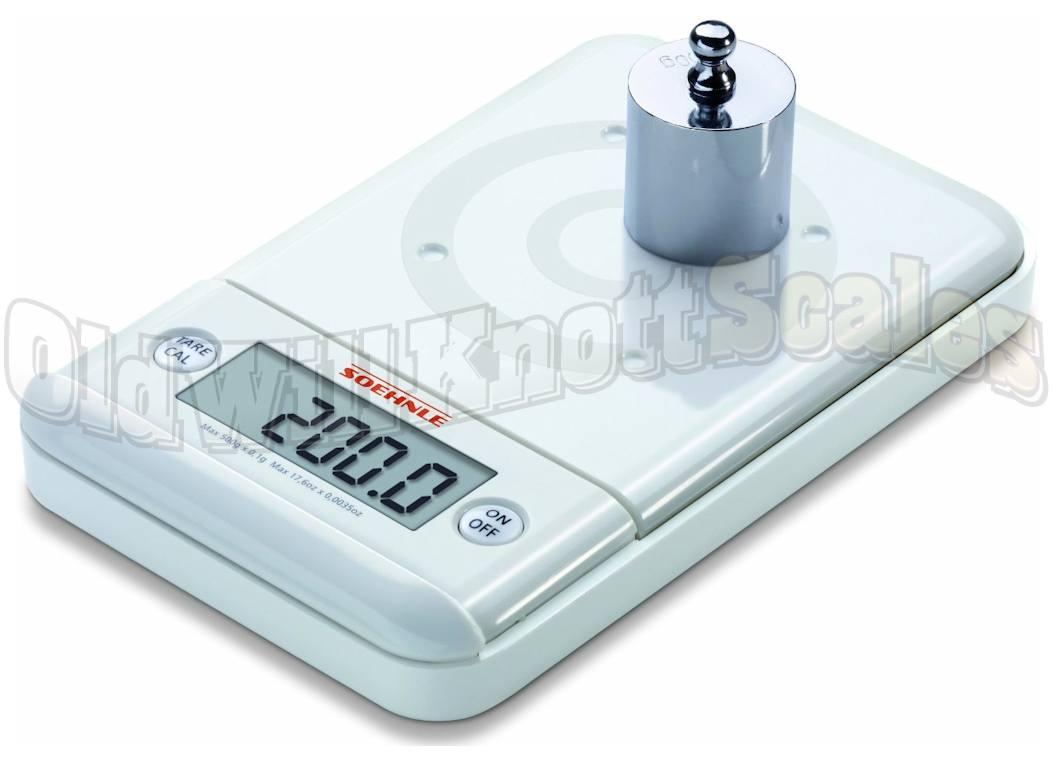 SOEHNLE 66150 Ultra 2.0 Compact Digital Scale