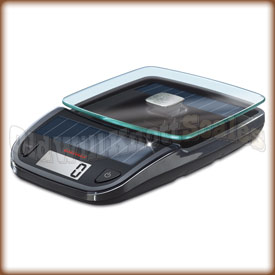The SOEHNLE 66188 solar powered kitchen scale.