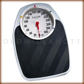 The Taylor 1130T mechanical bathroom scale