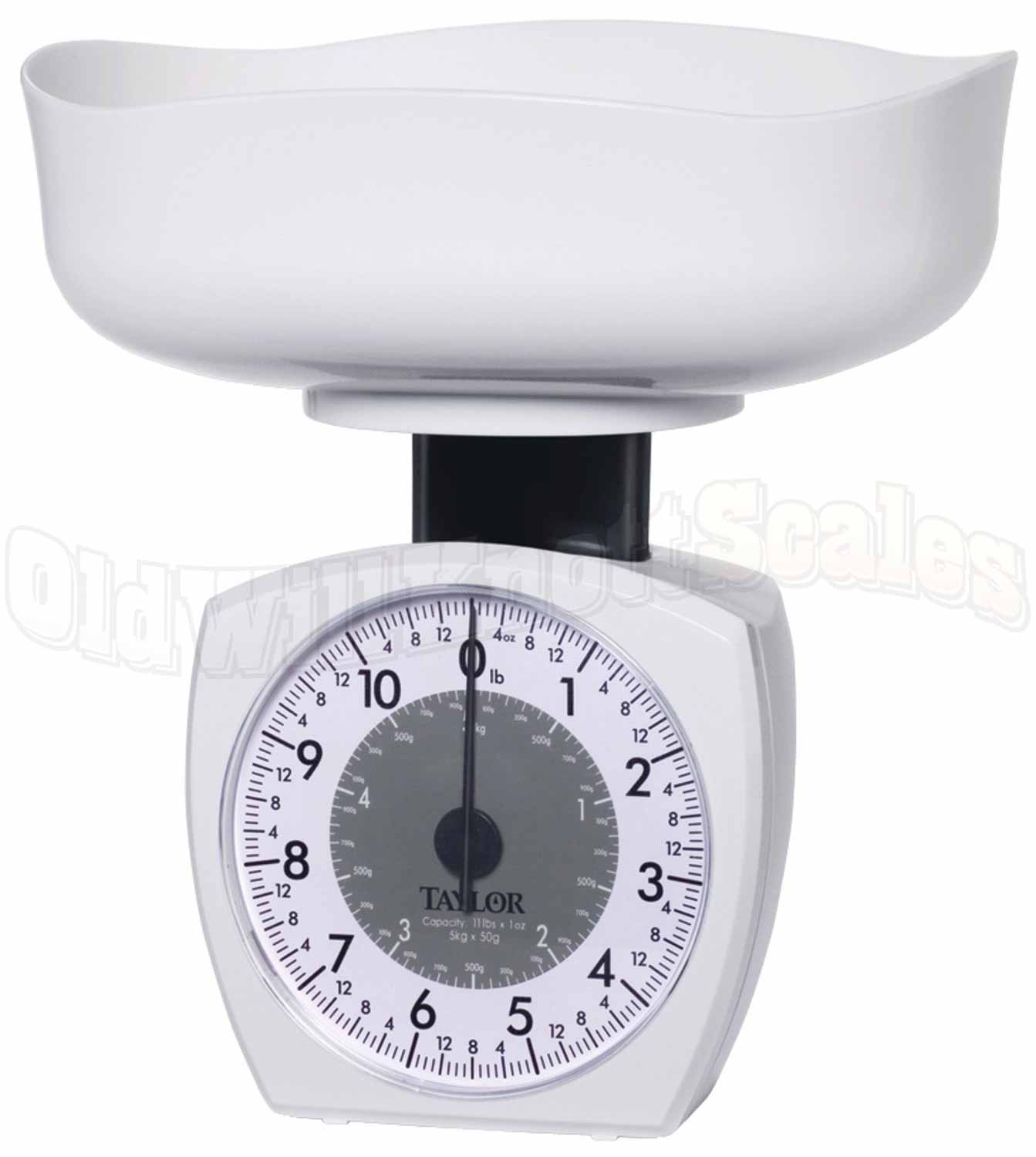 Taylor 3701kl Mechanical Kitchen Scale With Extra Large