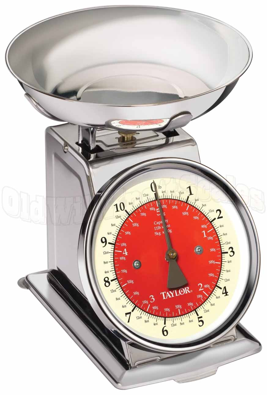 Taylor 3710 21 Stainless Steel Mechanical Kitchen Scale
