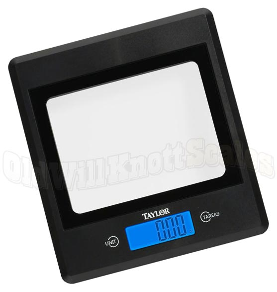 taylor 3885 high capacity digital kitchen scale with glass platform - Digital Kitchen Scale