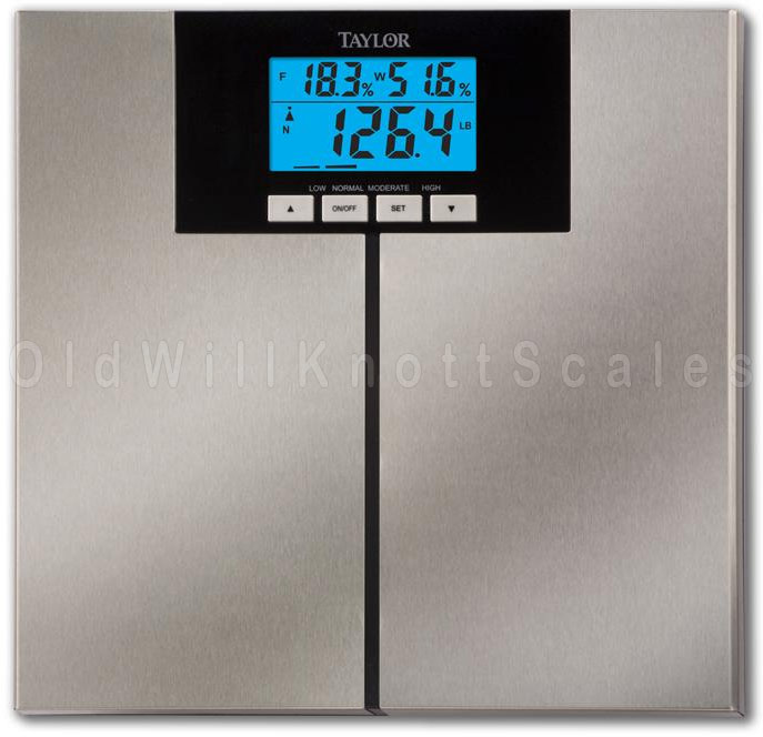 Taylor 5778FA Digital Body Composition Scale With AccuGlo Display