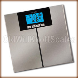 Taylor 5778 FA digital body composition scale.